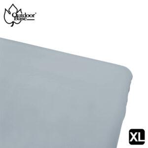 素色床包套-藍灰色-XL