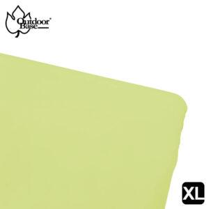 素色床包套-田園綠-XL